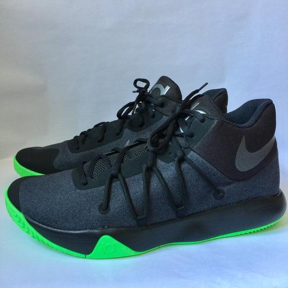 6476581480f4 Nike Zoom KD Black Green Basketball Shoes. M 5b67660e4ab6332426dd14cc
